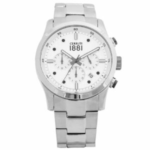 Cerruti Stainless Steel Chronograph CRA108SN04MS