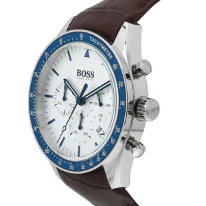 Hugo Boss Trophy Chronograph Brown Leather Strap 1513629